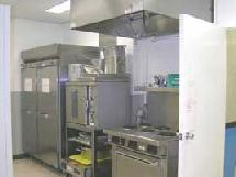 Space food preparation area