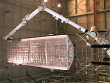 MRMDF with S1 Truss Payload Attached