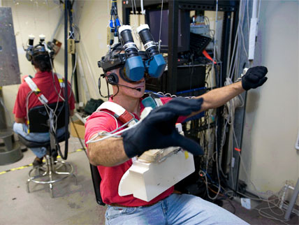 Nasa Jsc Engineering Virtual Reality Laboratory
