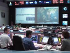 Station flight control room