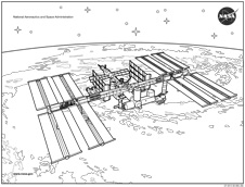 printable space station - photo #2