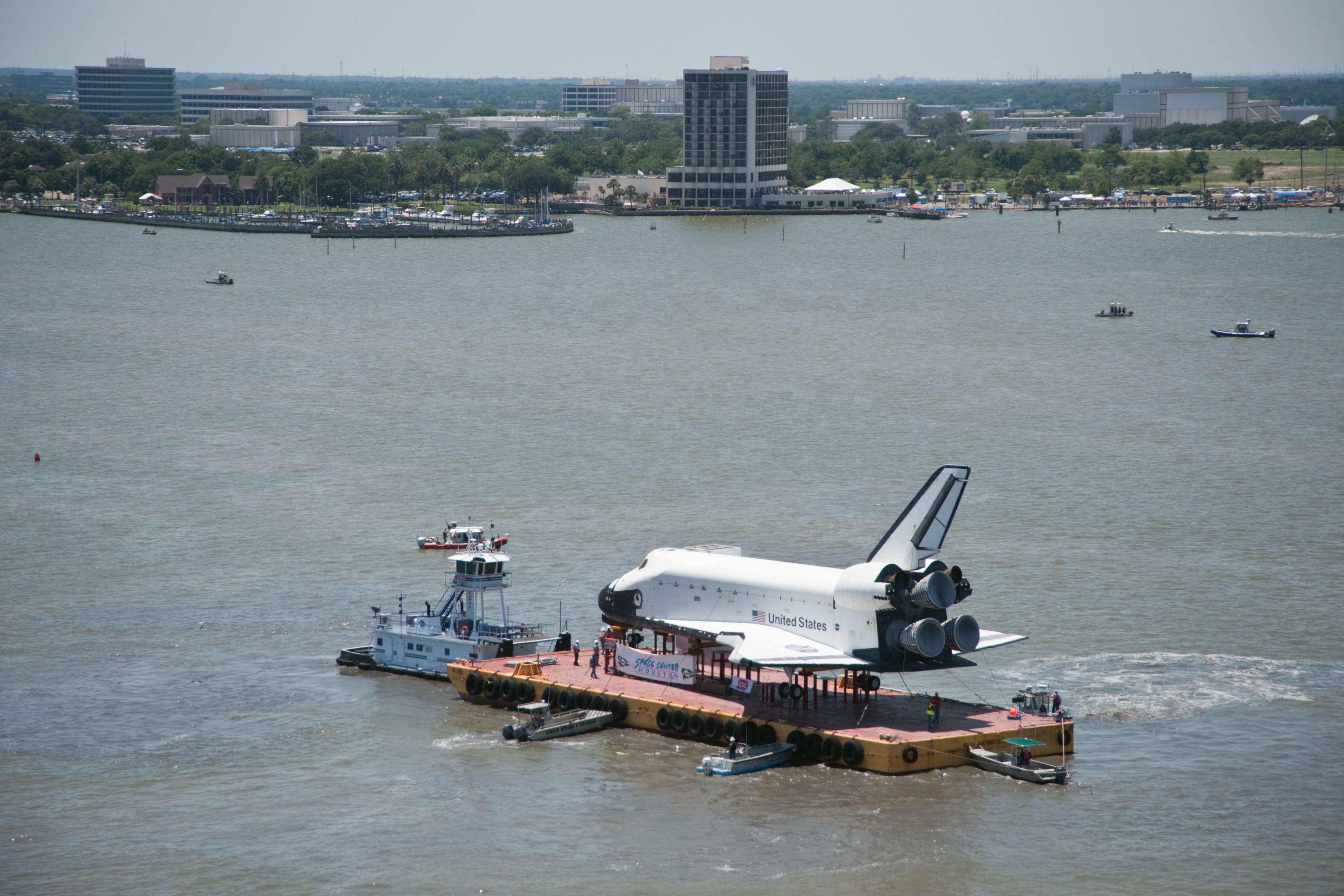 space shuttle landing in houston - photo #46