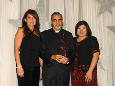 Dr. Kamlesh Lulla receives Ellison Onizuka Award