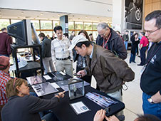 Astromaterials Research and Exploration Science Directorate wowed crowds