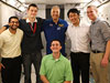 Mike Massimino and JSC interns