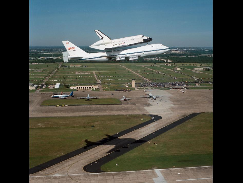 Shuttle Carrier Aircraft and Endeavour