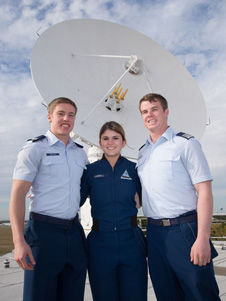 jsc2013e013375 -- Cadets Brown, Caudill and Barger