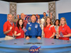 The DLN and Mission X NASA team, including astronaut Mike Barratt