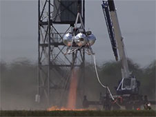 Morpheus hot fire test
