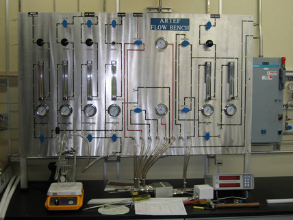Sub-scale Flow Bench