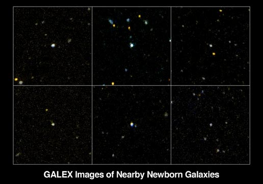 ultraviolet luminous galaxies spotted Galaxy Evolution Explorer