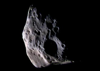 Saturn's moon Epimetheus