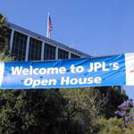 banner for JPL Open House