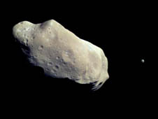 asteroid Ida and its moon Dactyl