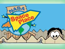 Space Place banner graphic