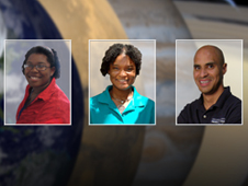 montage of panelists for Black History Month engineering discussion