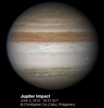 NASA - Caught in the Act: Fireballs Light up Jupiter