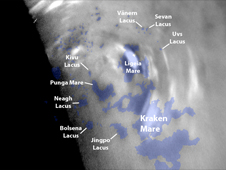 Titan's Northern Polar Clouds