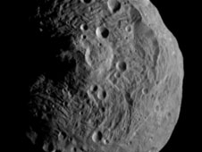 Latest Image of Vesta captured by Dawn on July 17, 2011