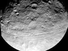 Capturing the Surface of Asteroid Vesta