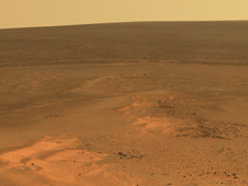 Opportunity's Eighth Anniversary View From 'Greeley Haven'