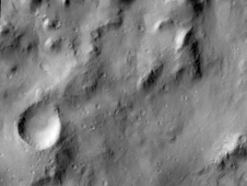 Tenth Anniversary Image from Camera on NASA Mars Orbiter