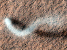 The Serpent Dust Devil of Mars