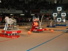 FIRST Robotics 2012 Long Beach