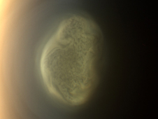True color image of Titan