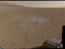 Gale Crater Vista, in Glorious Color