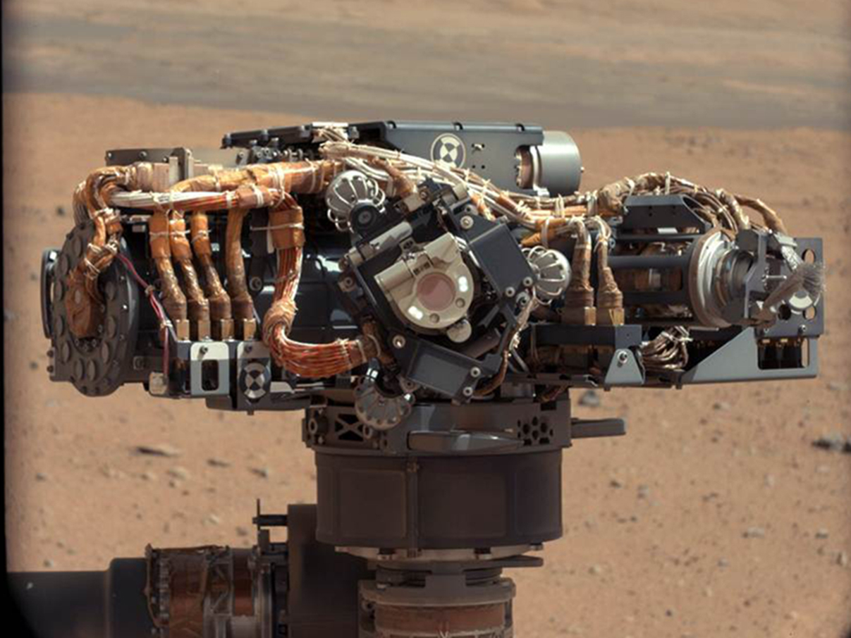 NASA - Mars Rover Curiosity Arm Tests Nearly Complete