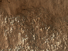 High-Resolution View of Cross-Section Through a Mars Ripple