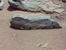 Rocknest 3 Imaged by Curiosity's ChemCam