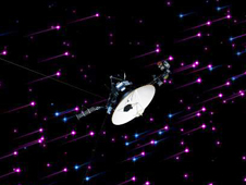 This still image and set of animations show NASA's Voyager 1 spacecraft exploring a new region in our solar system called the 'magnetic highway.'