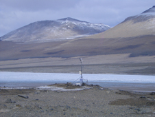 Lake Vida, one of the most remote lakes in Antarctica.