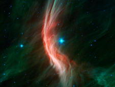 Massive Star Makes Waves