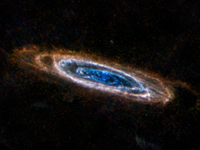 Andromeda's Colorful Rings