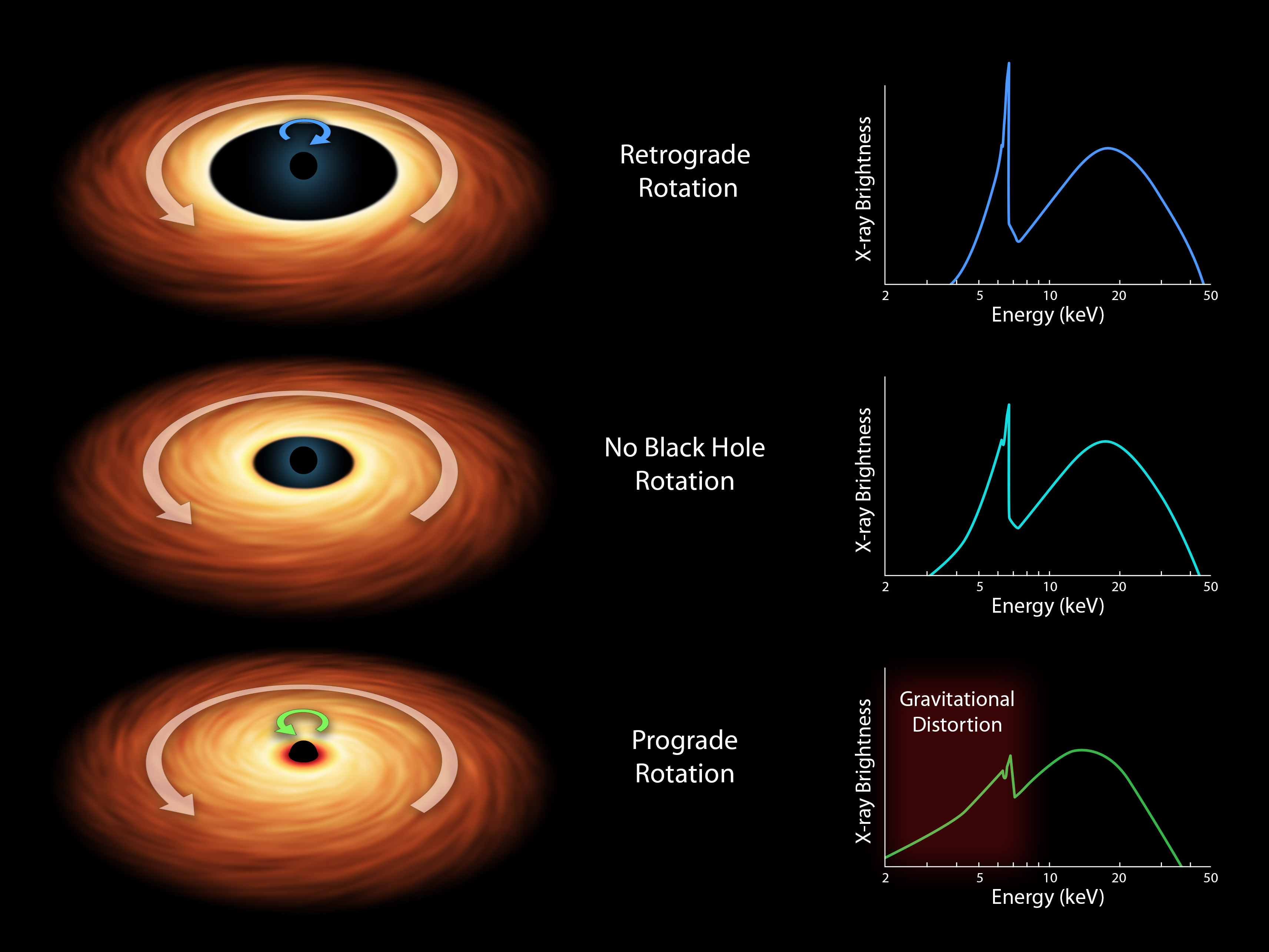 Nasa nasa 39 s nustar helps solve riddle of black hole spin for Space time fabric black hole