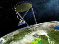 Artist's concept of the SMAP satellite