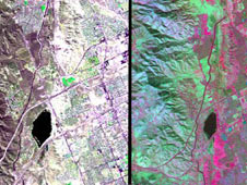 The HyspIRI airborne campaign overflew California's San Andreas Fault on March 29, 2013.