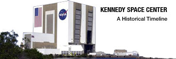 Kennedy Space Center - A Historical Timeline