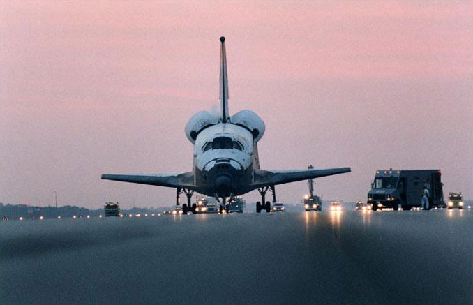 Space Shuttle at Landing