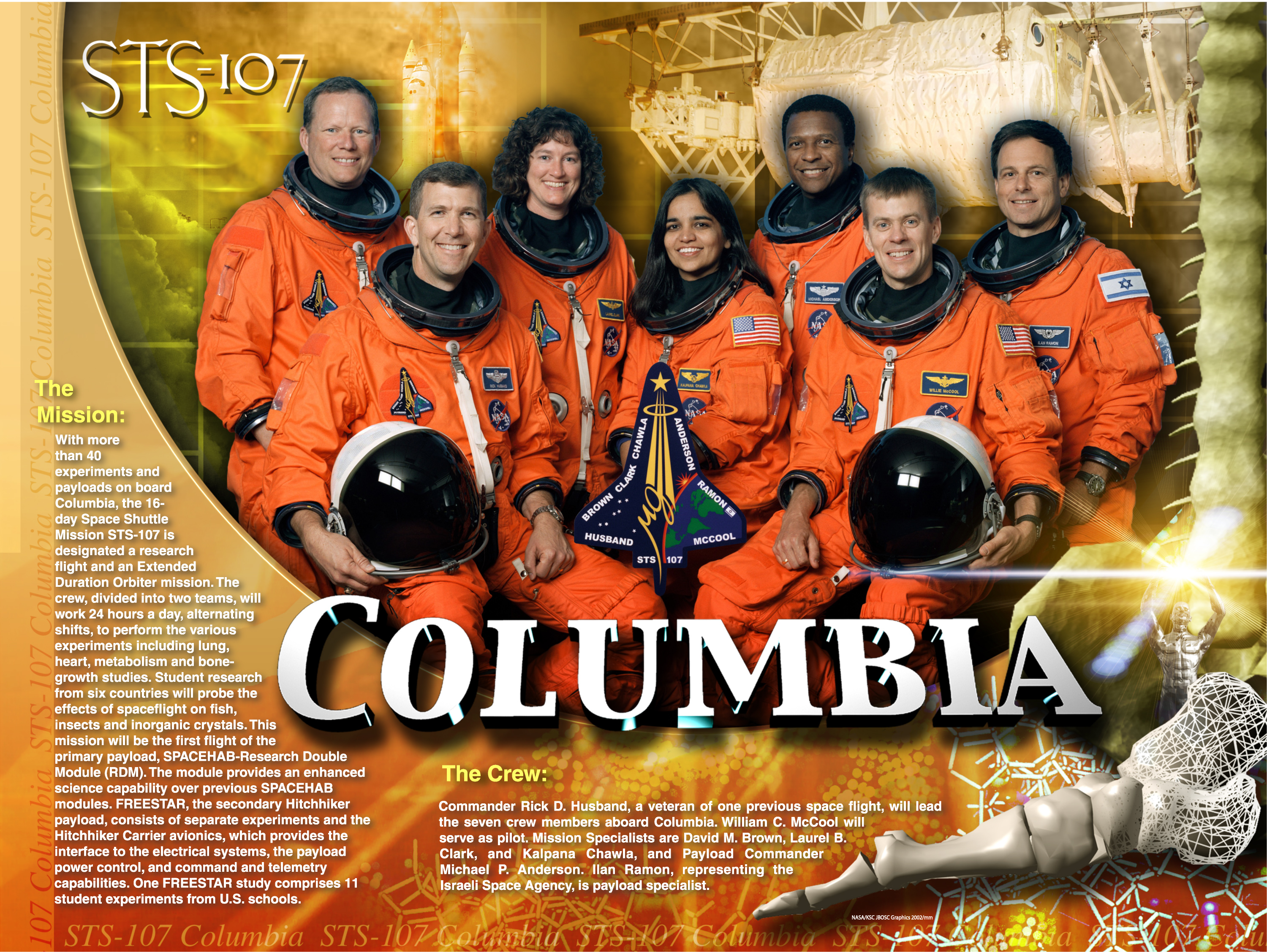 space shuttle columbia disaster crew - photo #11