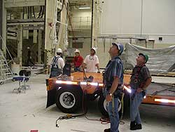 Workers participate in safety classes