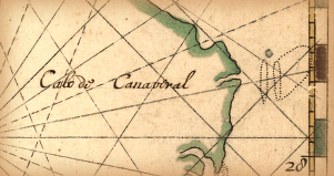 Early maps used Cape Canaveral as a navagational landmark.