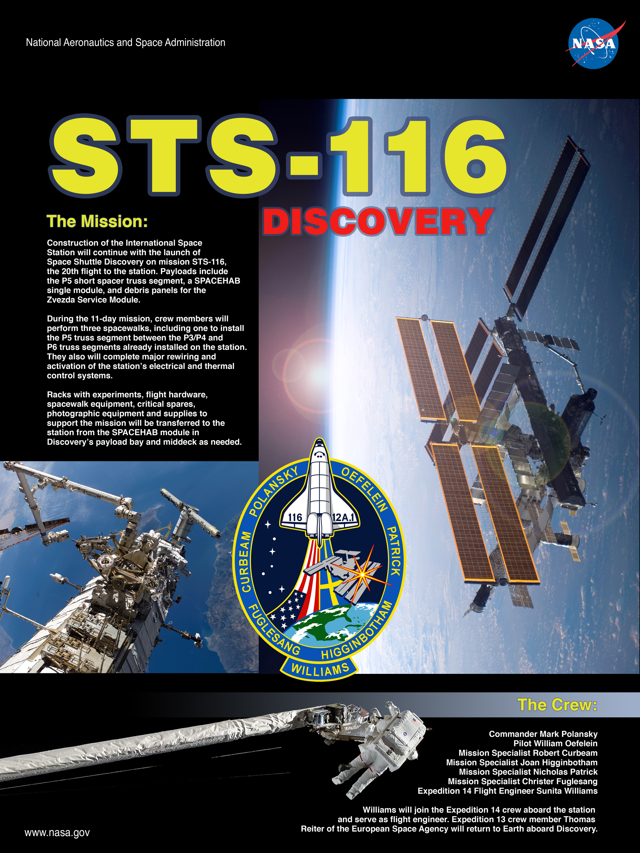 Na nasa new space shuttle design - Mission Poster
