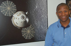 Kelvin Manning, manager of the Orion spacecraft for Kennedy