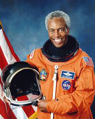 NASA astronaut Dr. Guion Bluford