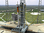 Artist concept of launch pad 39B for Constellation