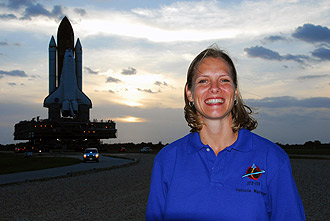 Stephanie Stilson, Discovery's flow director